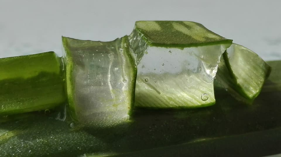 cristal de aloe vera
